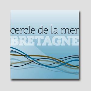 Cercle de mer Bretagne /// logotype