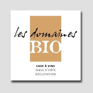 Les Domaines bio /// logotype