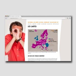 Graine d'Europe /// L'Europe c'est pas sorcier /// site /// carte1