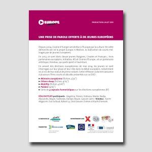 Graine d'Europe /// Europe in Motion /// leaflet DVD
