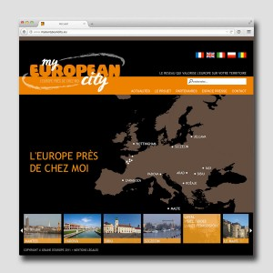 Graine d'Europe /// MyEuropeanCity /// site web #1