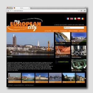 Graine d'Europe /// MyEuropeanCity /// site web #2