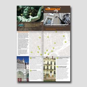Graine d'Europe /// MyEuropeanCity /// visite libre /// dépliant ouvert