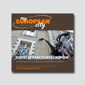 Graine d'Europe /// MyEuropeanCity /// visite libre /// dépliant