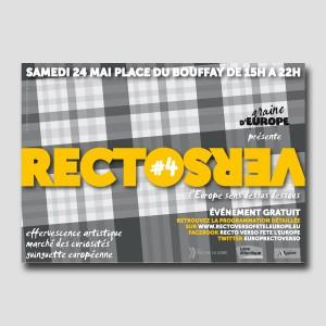 Graine d'Europe /// RectoVerso /// flyer
