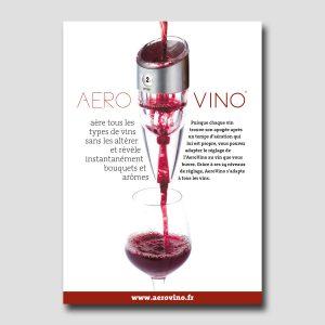 AeroVino /// plaquette A5