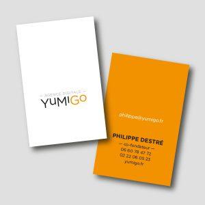 Yumigo /// carte de visite